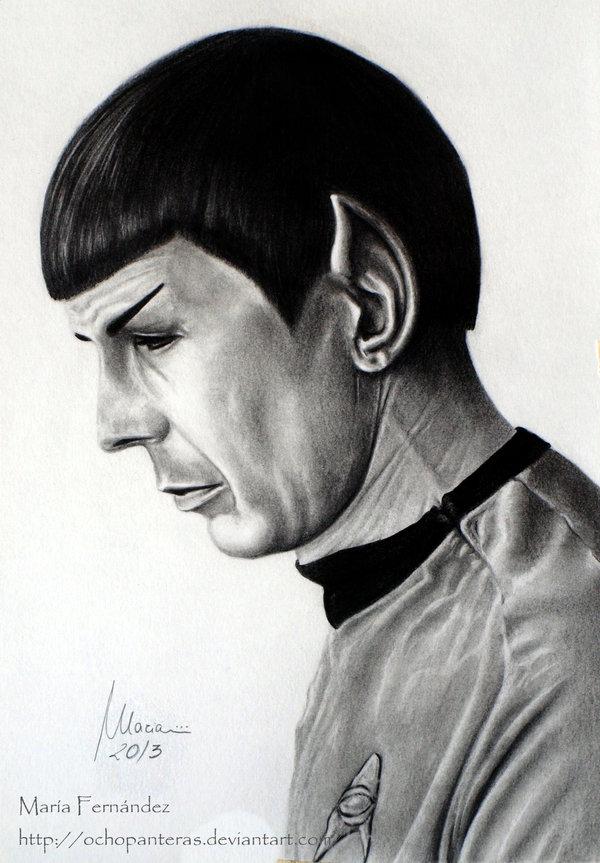 Spock (Leonard Nimoy) © 2013-2015 ochopanteras